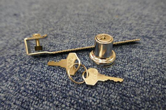 シリンダー錠の取付け方